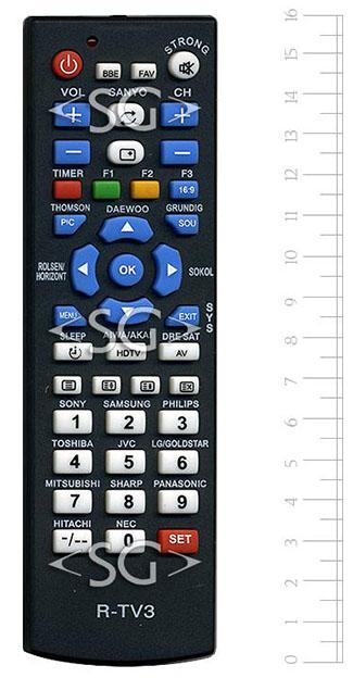 универсальный пульт r-tv3 инструкция